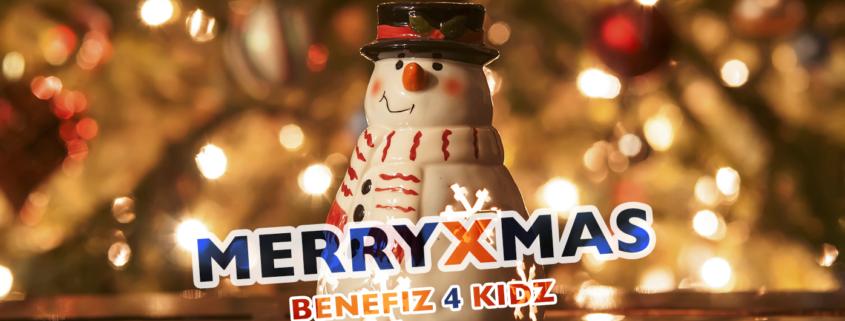 Benefiz 4 Kidz wünscht frohe Weihnachten