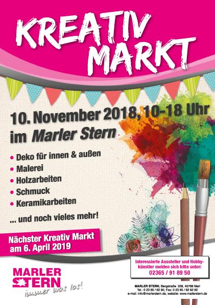 Kreativ Markt im Marler Stern